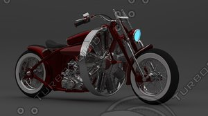 3d concept red baron