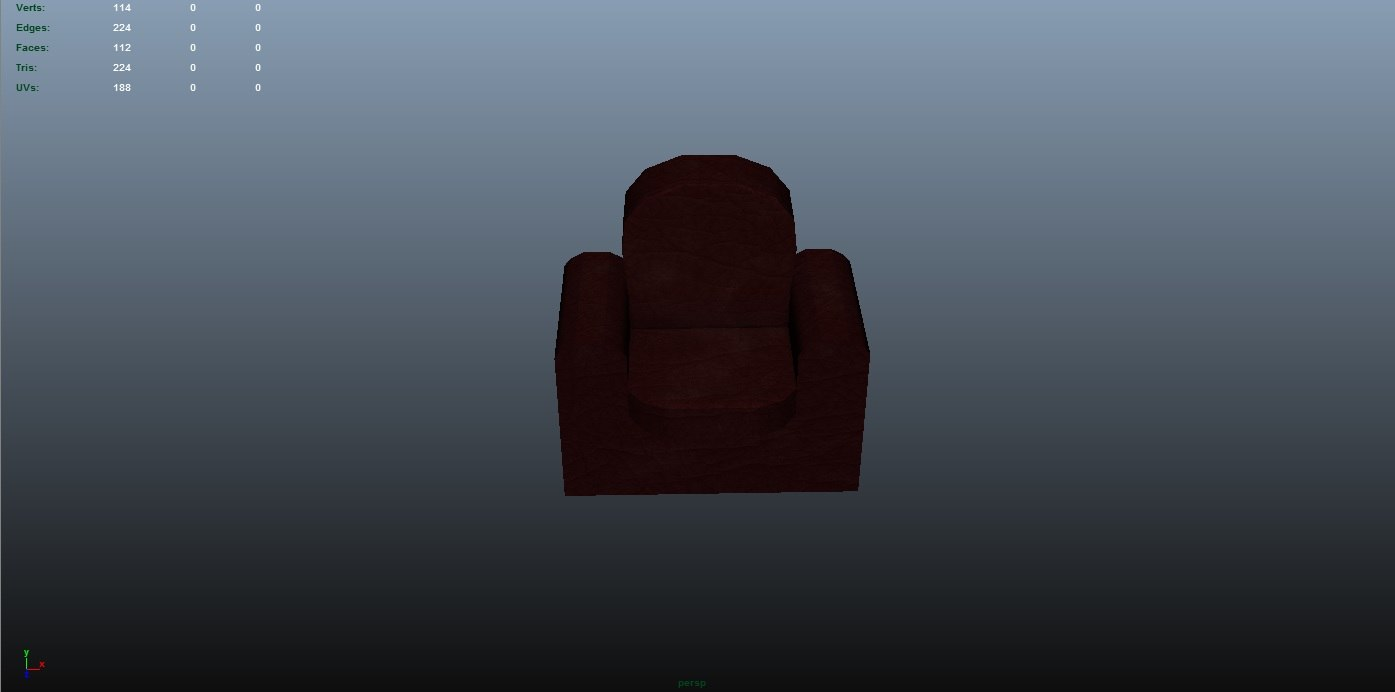 free obj mode comfy chair