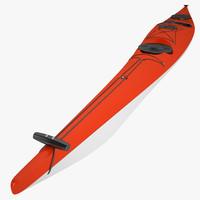 kayak s 3d model
