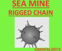 3d sea chain rigged