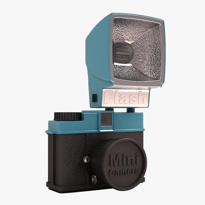 antique camera 3d 3ds