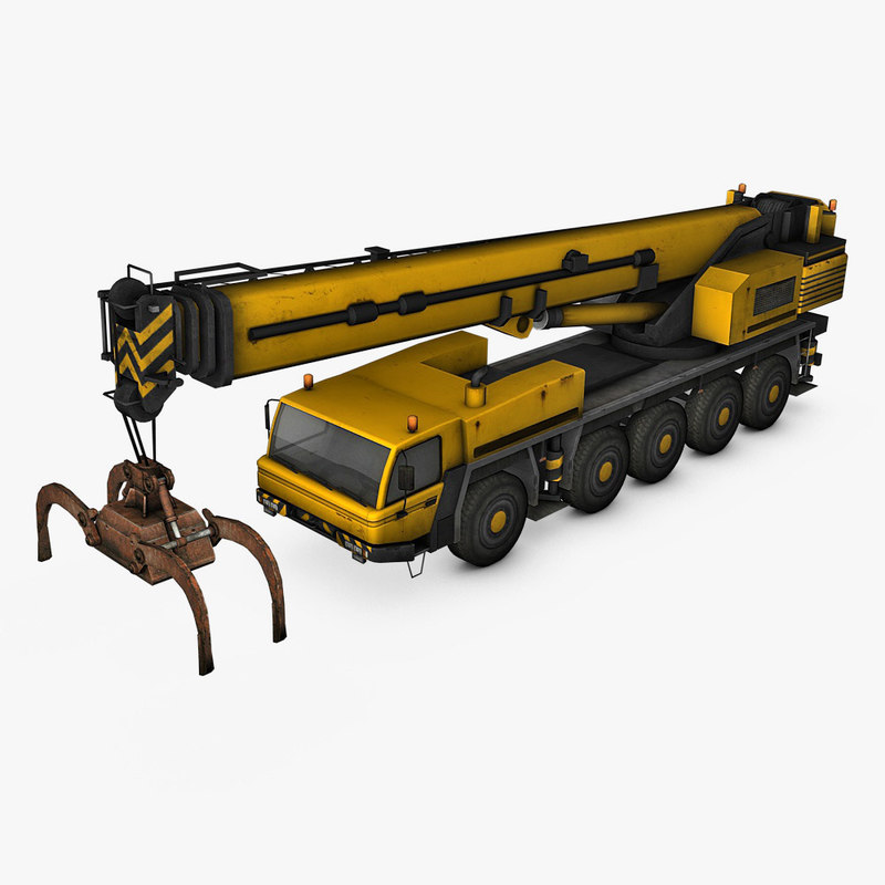 max mobile crane industrial