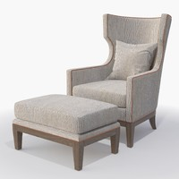 IRONIES - Tule Chair and Ottoman