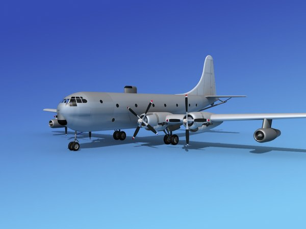 max propellers tanker kc-97 boeing