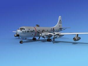 propellers tanker kc-97 boeing 3d 3ds