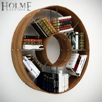 Circular Bookshelf