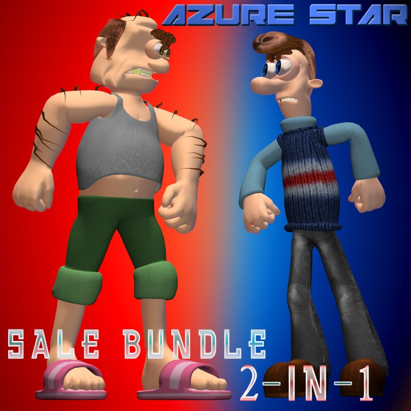3d star sale 2-in-1 model