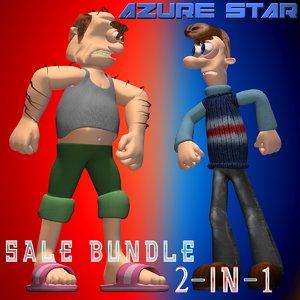 3d star sale 2-in-1 model