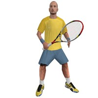 rigged tennis player 2 max