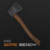 3ds ready axe