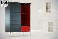 3dsmax cabinet mida b italia