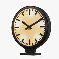 3d clock restoration hardware -