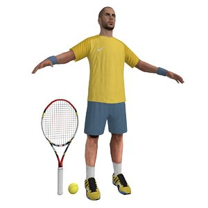 tennis player 2 max