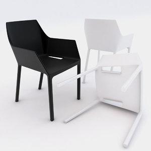 3d mem chair model
