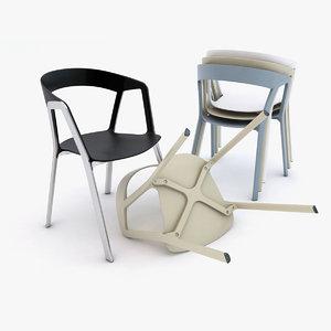 compas chair 3d max
