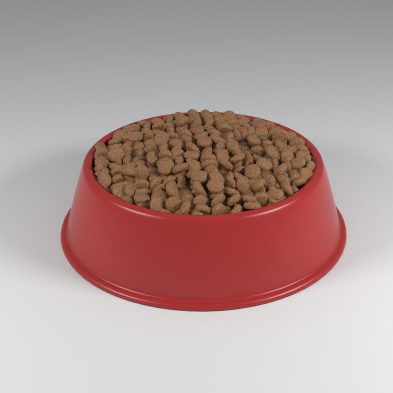 3d dog food