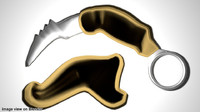 Karambit - double edge ancient army