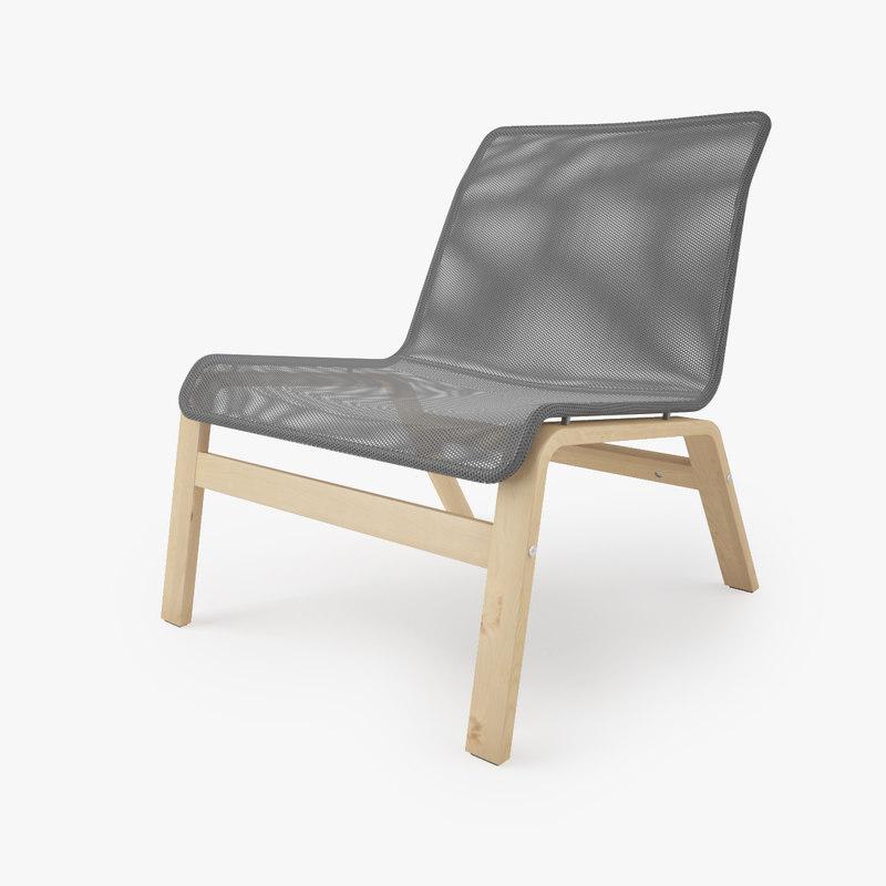 ikea nolmyra armchair 3d max