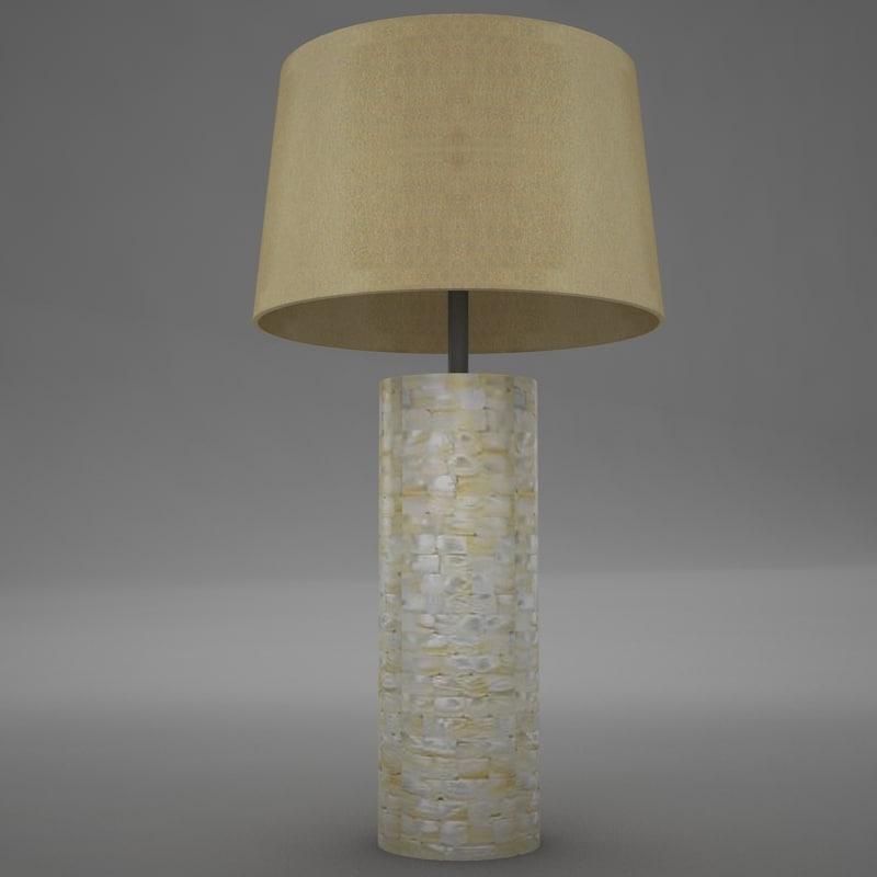 lamp scene 3d 3ds