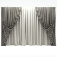 curtains 3d max