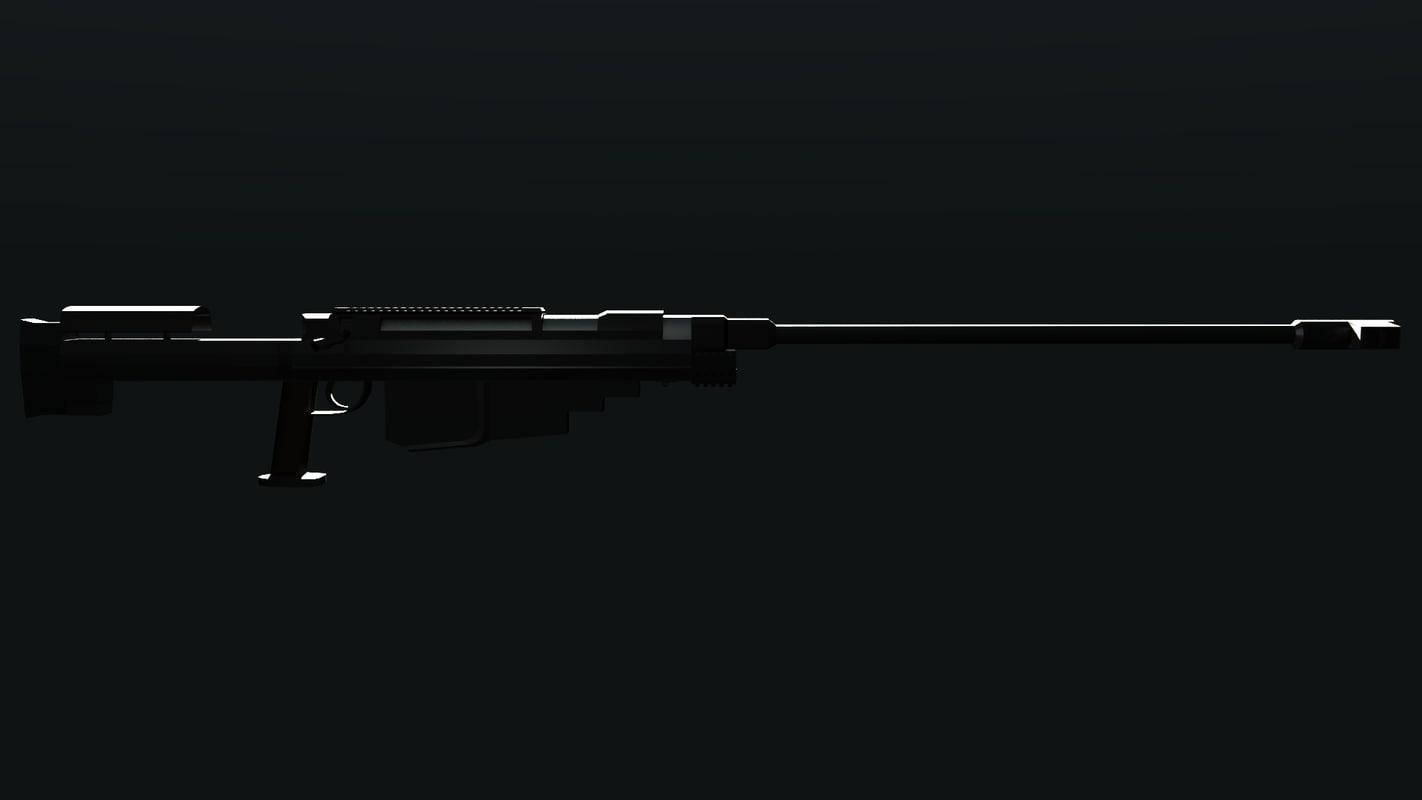 custom sniper rifle 3d ma