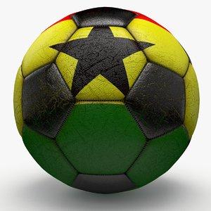 3d model soccerball ball