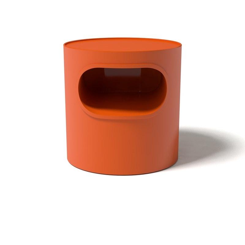 table artemide giano vano 3d 3ds
