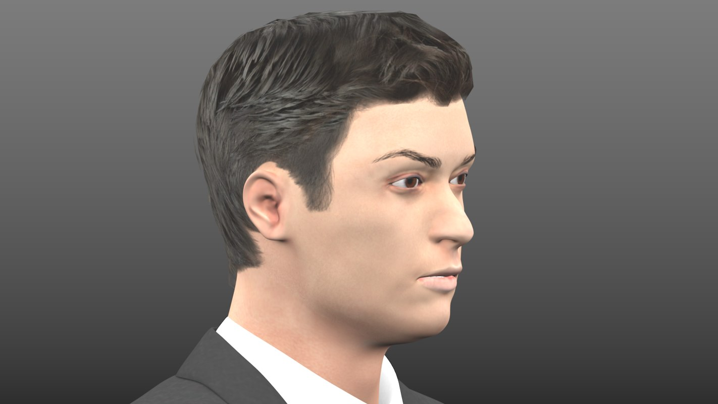 realistic human male man 3d 3ds