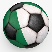 3d model soccerball ball