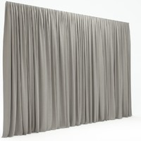 3d max curtains