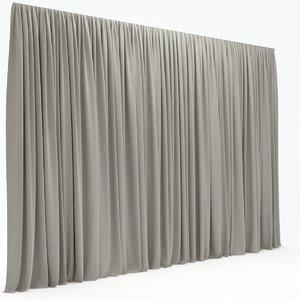 3d max curtains