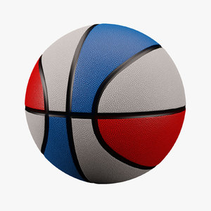 basketball red white blue max