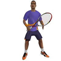 max rigged tennis player