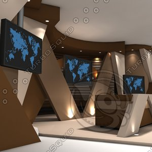 virtual set 3ds