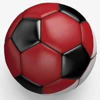 3ds max soccerball pro ball black