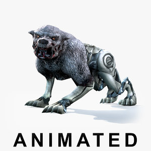 3d monster animations