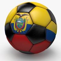 3dsmax soccerball pro ball black