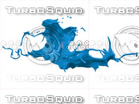 3d model liquid splash