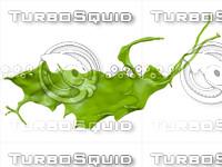 liquid splash obj
