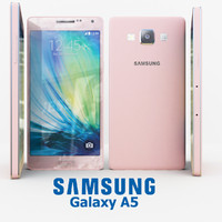 3dsmax samsung galaxy a5 pink