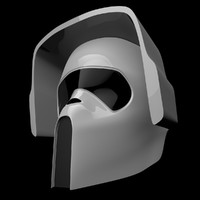 3d scout trooper mask model