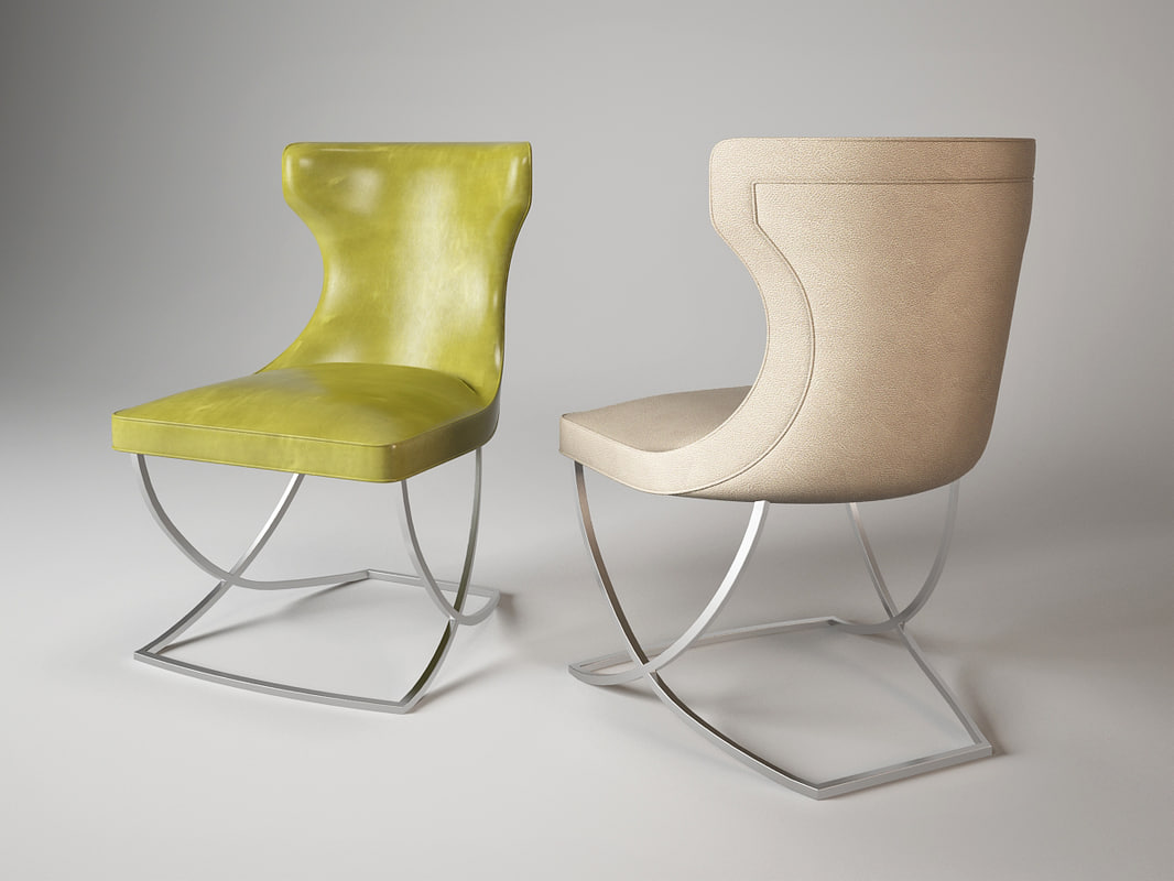 3d paloma chair baxter model