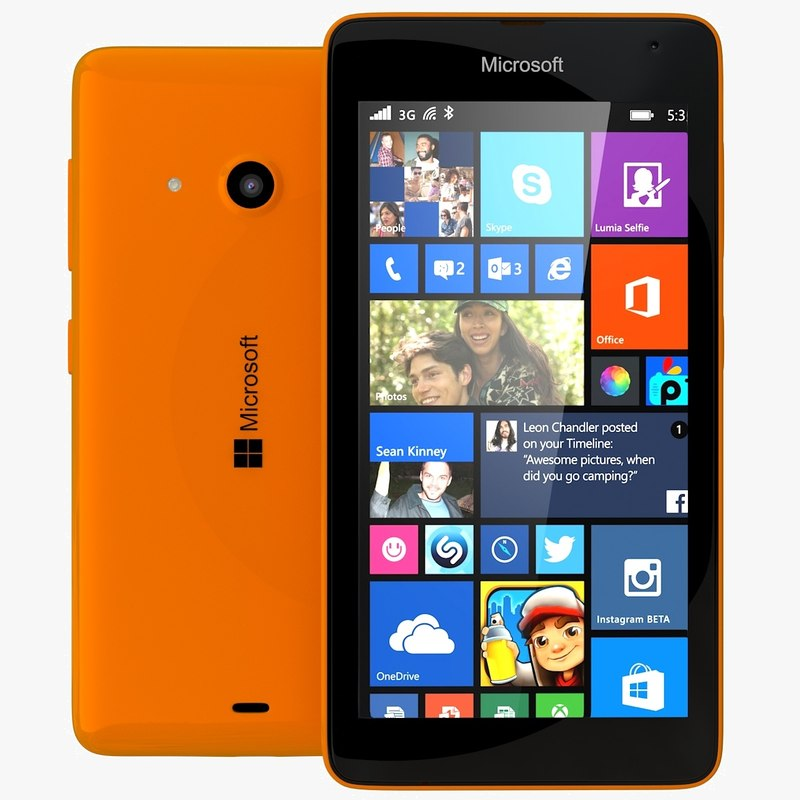c4d microsoft lumia 535 dual