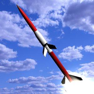 3d model astrobee rockets 200