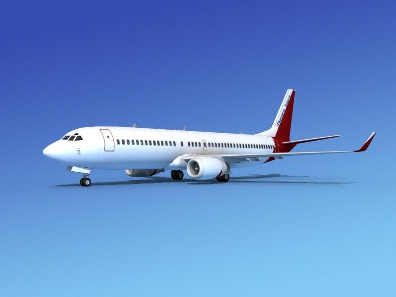 boeing 737-800 737 3d model