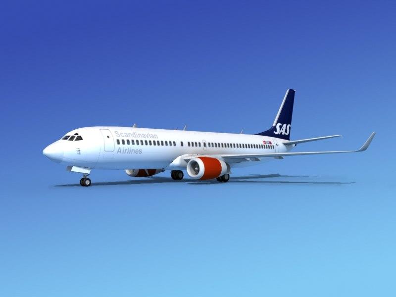 x boeing 737-800 737