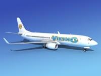 3d boeing 737-800 737 model