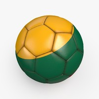 3d model soccerball pro ball
