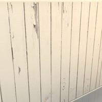 3d model wood walls