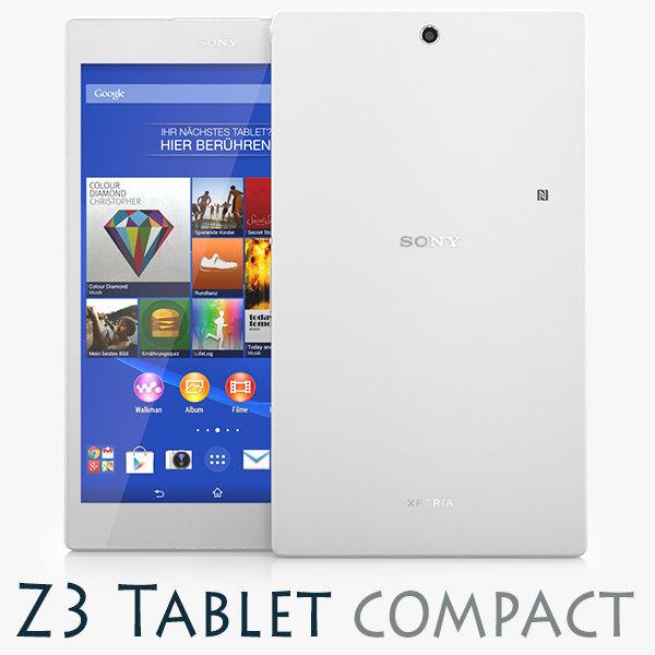 3d sony xperia z3 tablet